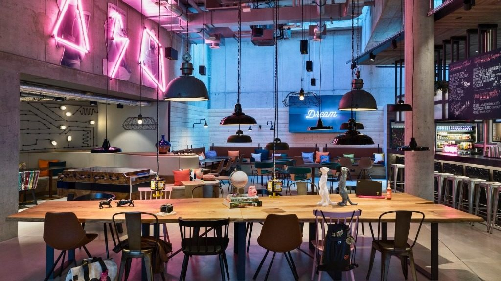 Hip new Moxy hotel brings its colourful vibe to downtown Frankfurt