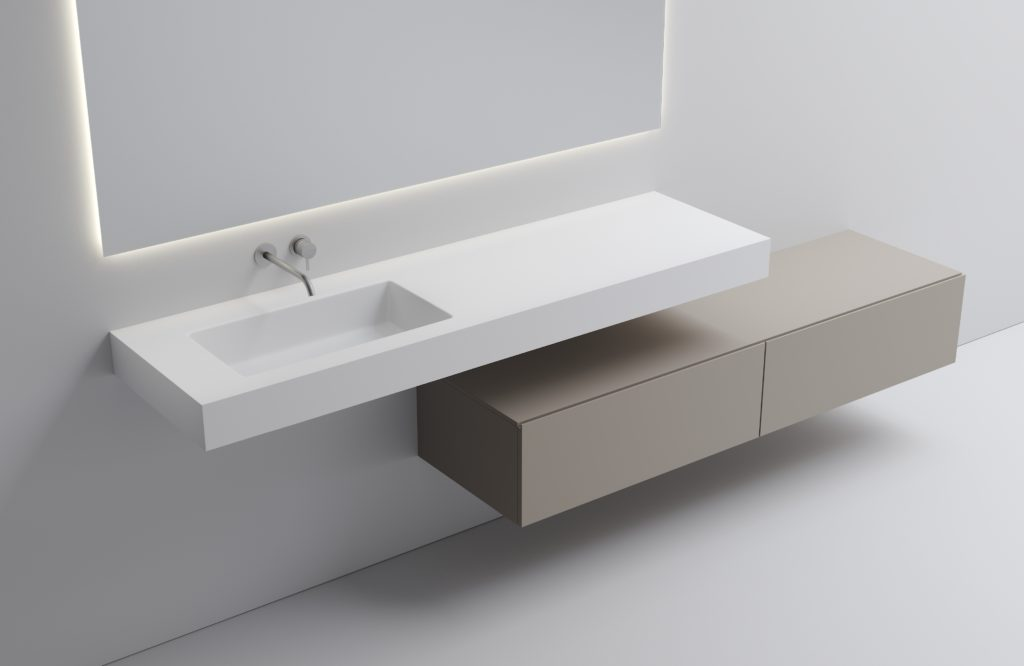 MURALE by VALLONE® – Individual and customized wash basin solutions