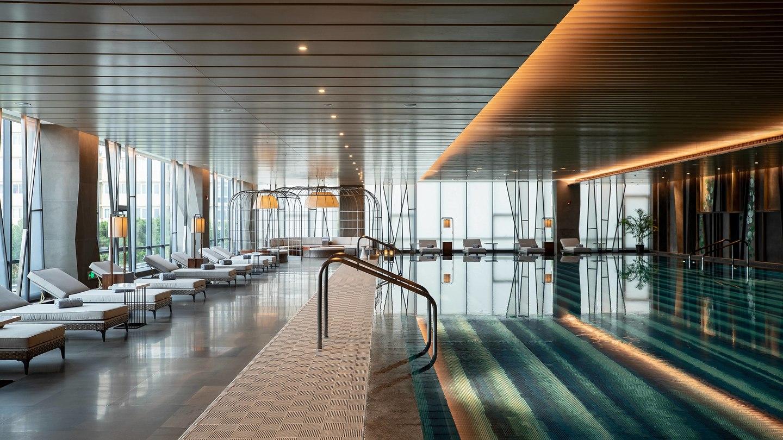 Renaissance xi an hotel draws classic geometric game for Design hotel xian