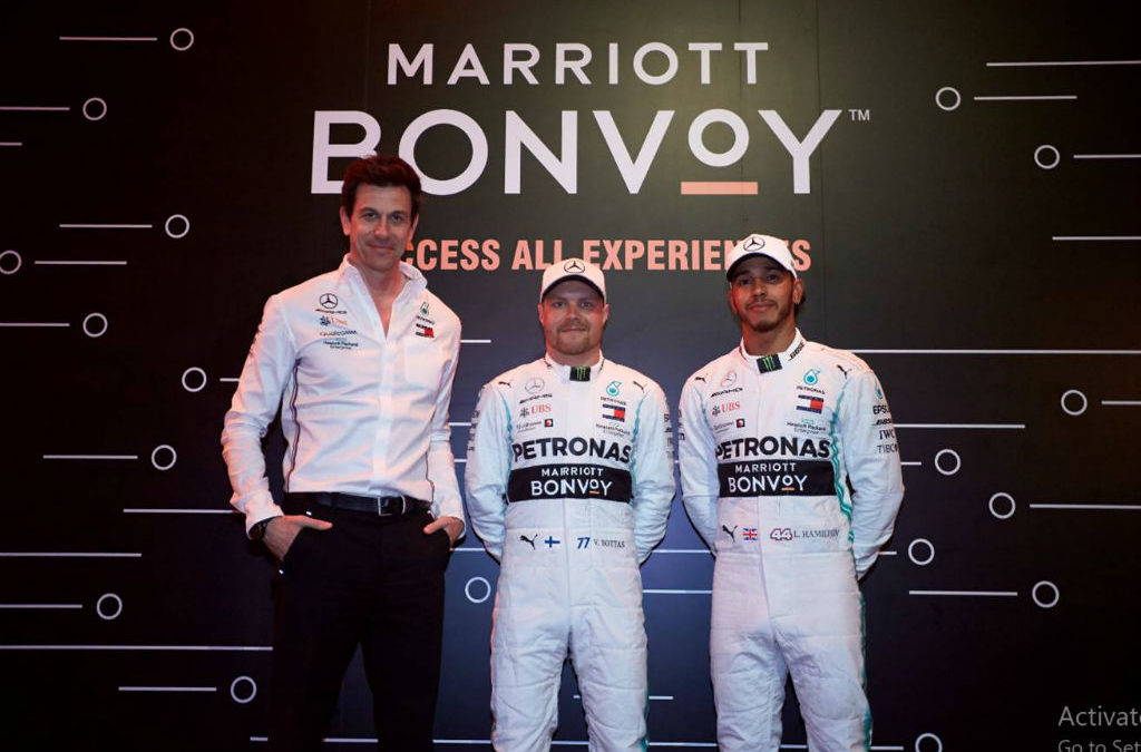 Racing fans in pole position: Marriott extends partnership with Mercedes-AMG Petronas Motorsport [Infographic]