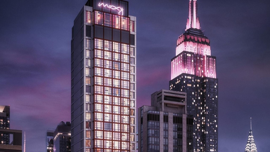 New York's new Moxy Chelsea to embody the ideals of urban luxury