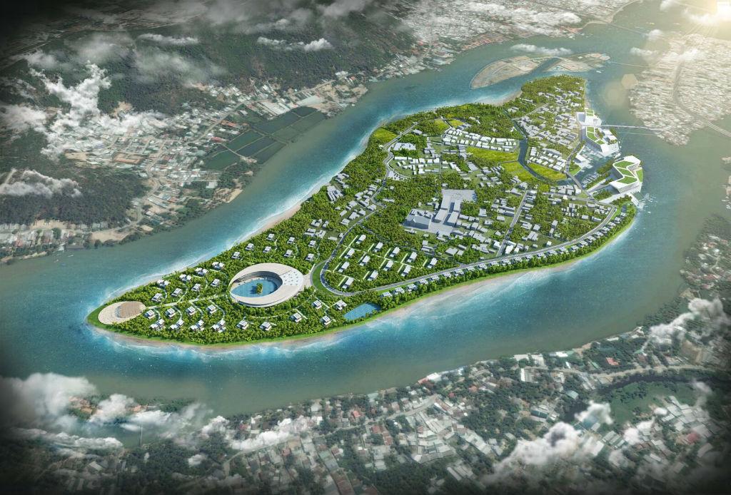 El proyecto de diseño de Bird Island en Vietnam toma vuelo
