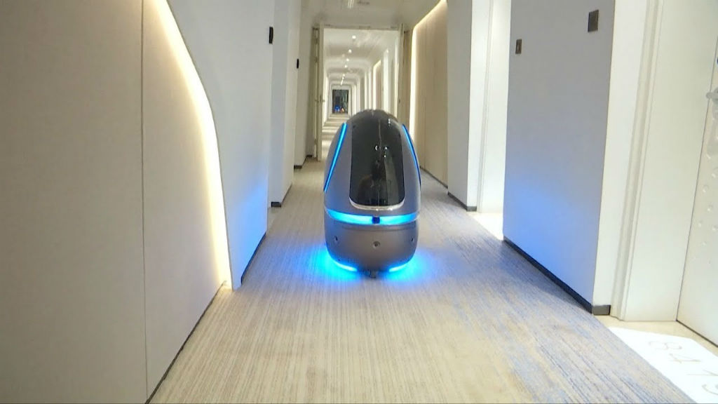 Welcome to the future: A look inside the Alibaba Group's ultramodern FlyZoo Hotel