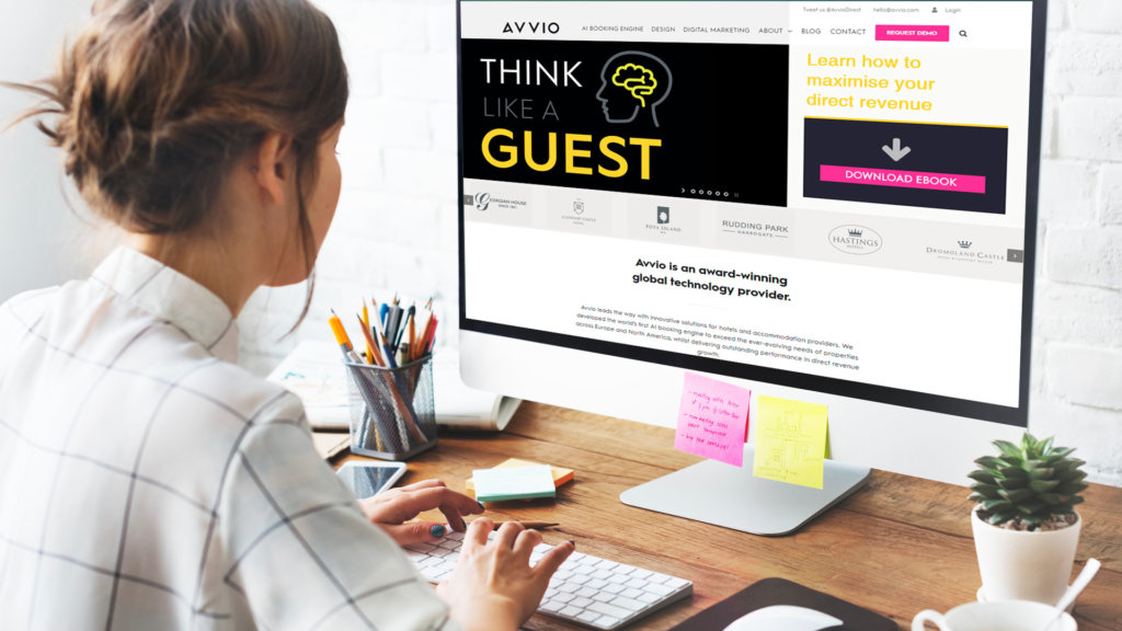 Think like a hotel guest: booking engine innovations & improving brand awareness