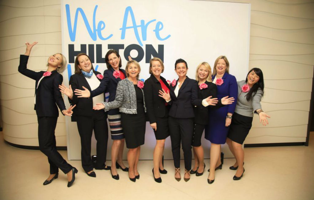 Hilton roundup: championing gender equality to setting sights on Asia-Pacific
