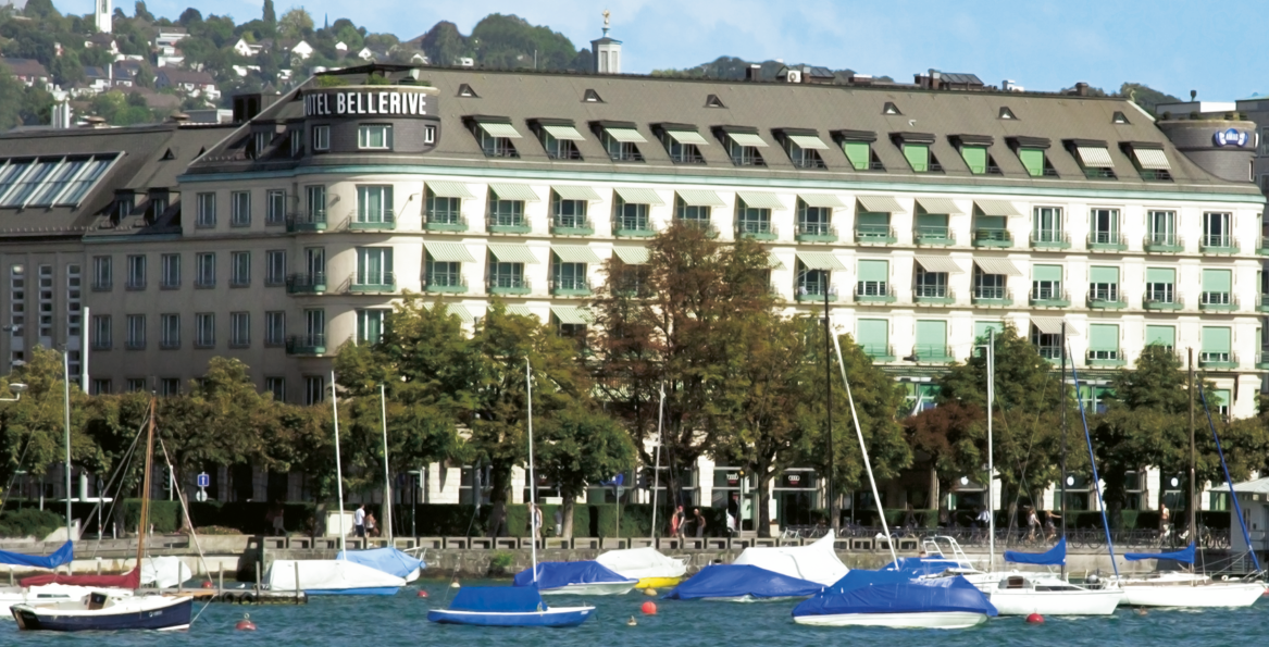 Zurich's famed Bellerive au Lac to become Ameron Hotel [Infographic]