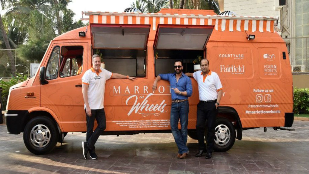 Marriott's first food truck goes on six-city tour in India