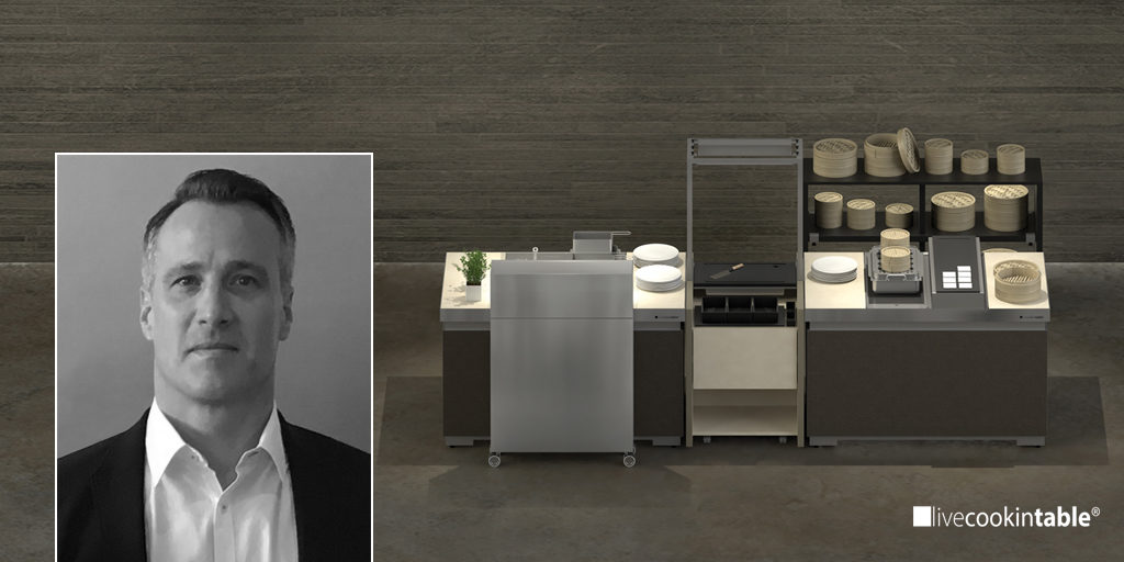 MEC2 appointed new sales director Asia-Pacific for livecookintable®