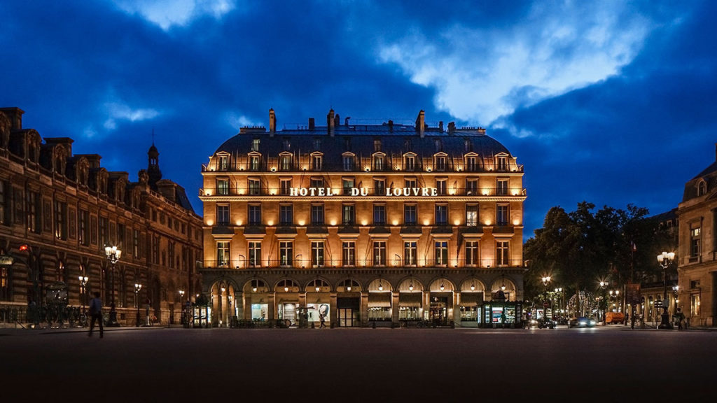 Hotel du Louvre becomes Hyatt's fifth Unbound Collection property in Europe [Infographic]