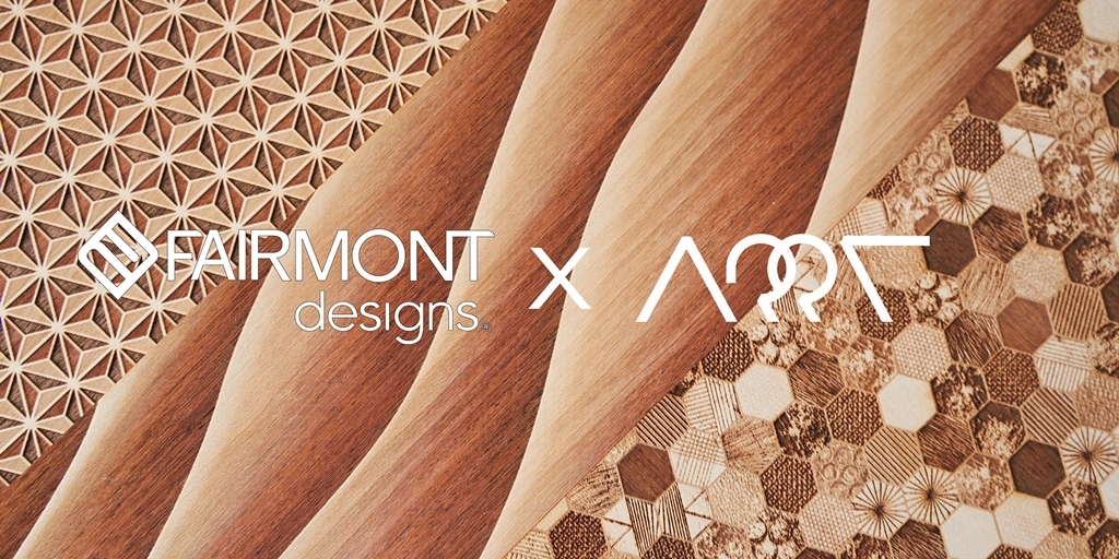 Fairmont Designs introducing new Multi Engraved Layers Veneer technology