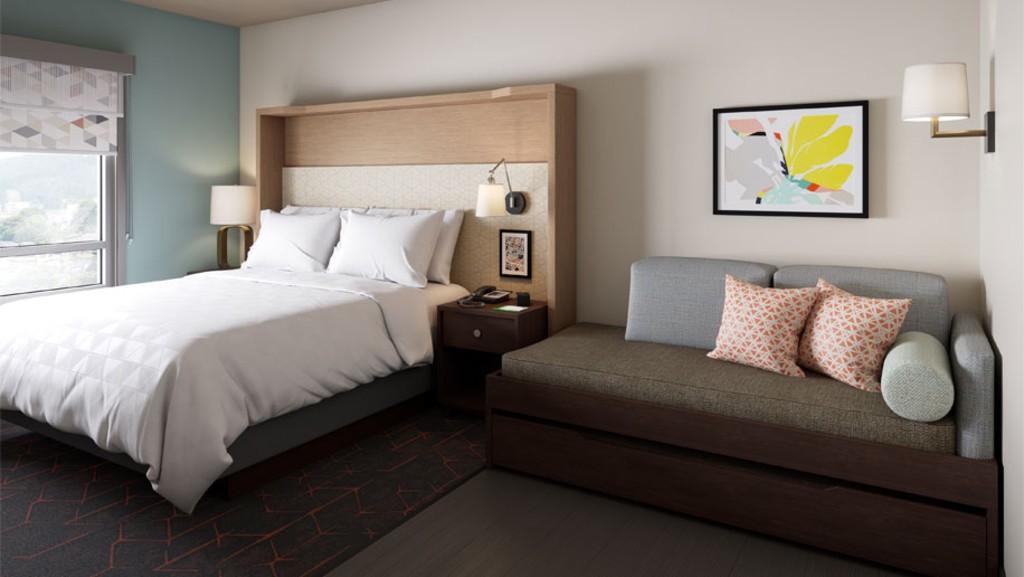Holiday Inn, Staybridge Suites y Candlewood Suites cambian de imagen [informe de construcción]