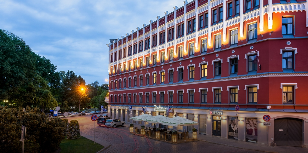 Baltic's first Radisson Hotel opens doors in Riga, Latvia [Infographic]