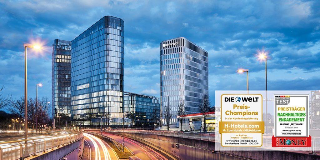 Germany's H-Hotels registers triple industry win
