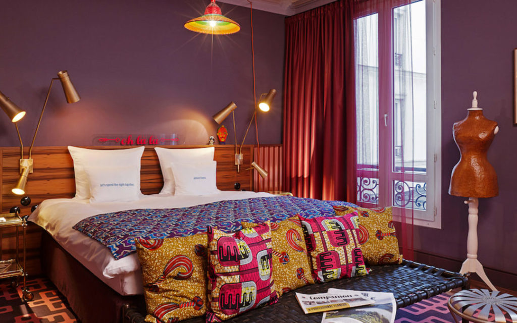 Indian dreams in 25Hours Hotels' Paris location