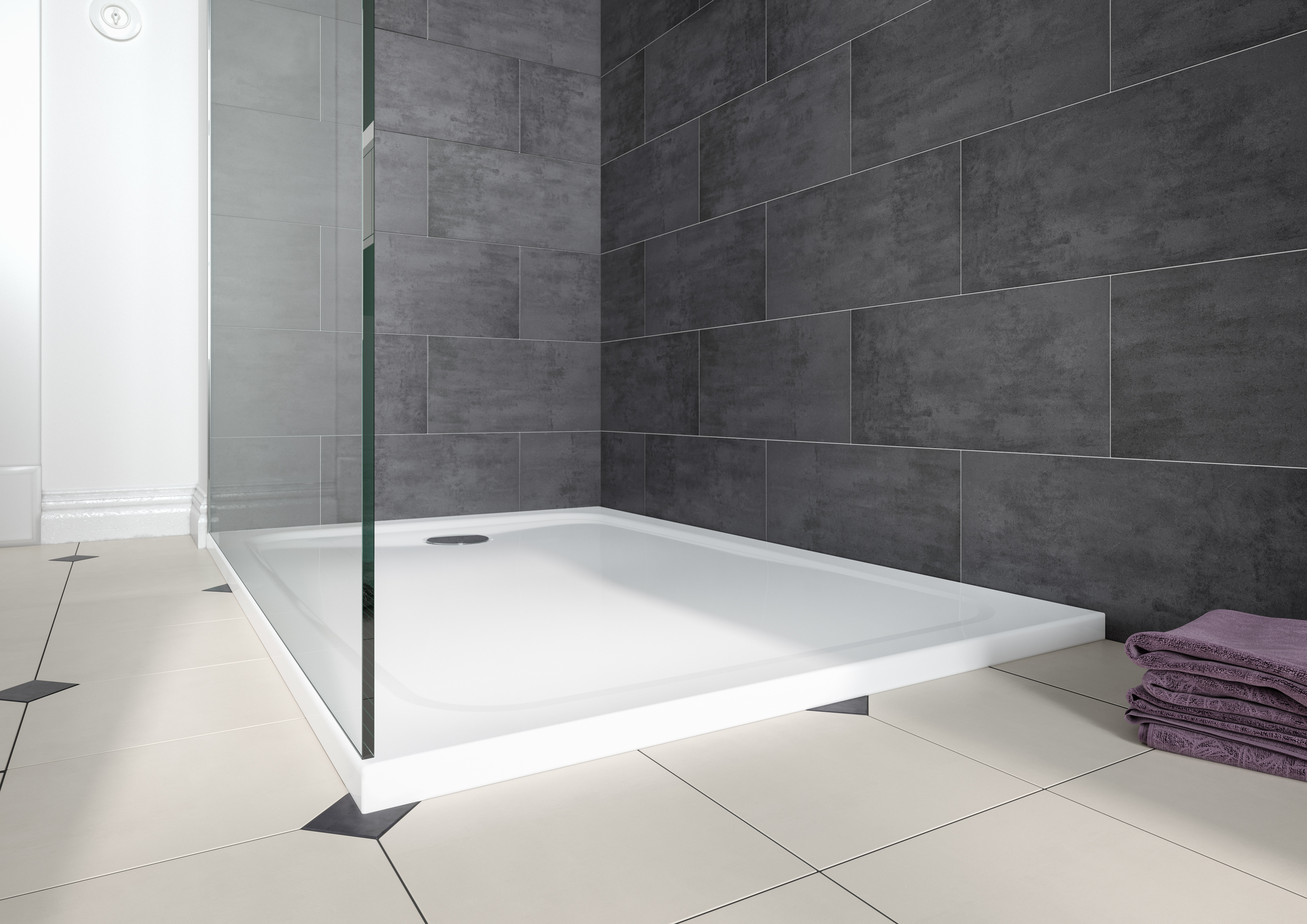 100,000 options for designing shower areas