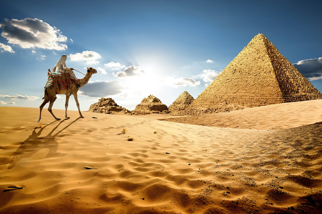 Brands race to sure up Footprints in Egypt, where tourism is booming