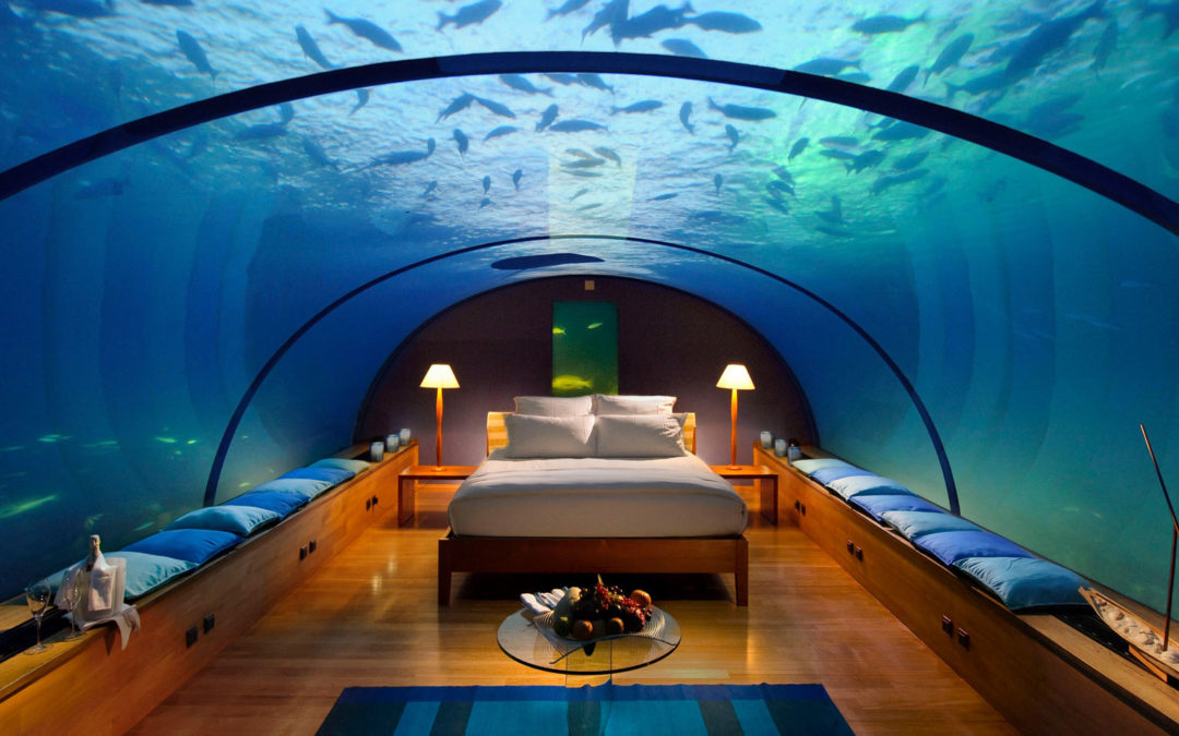 Conrad Maldives Rangali builds Hilton's first underwater guestroom