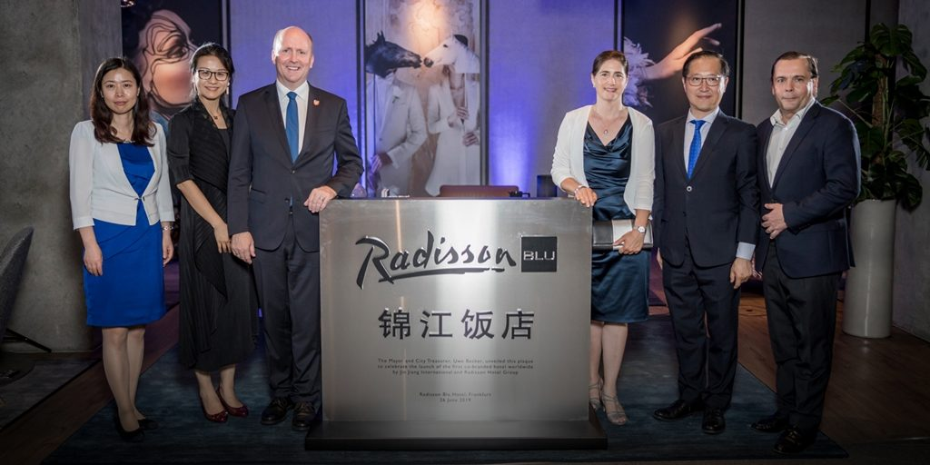 Jin Jiang International & Radisson launch first co-branded hotel