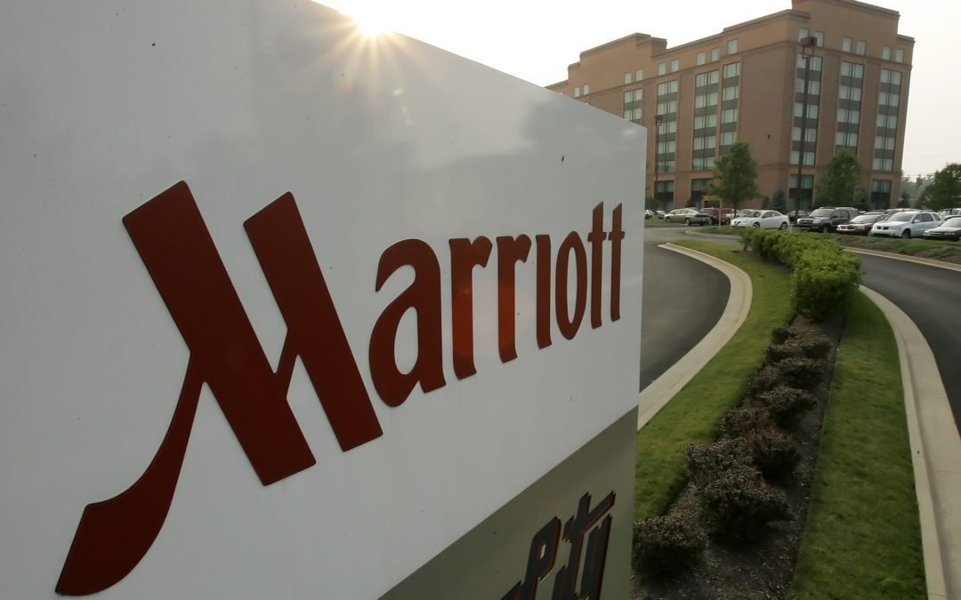 How does Marriott plan to recharge Sheraton's brand?