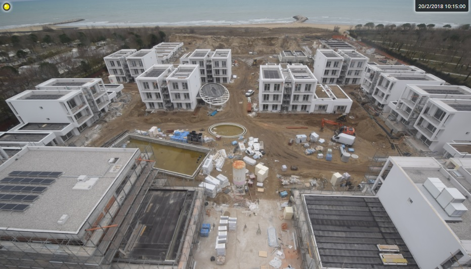 Hapimag lets investors in on the action with live construction video