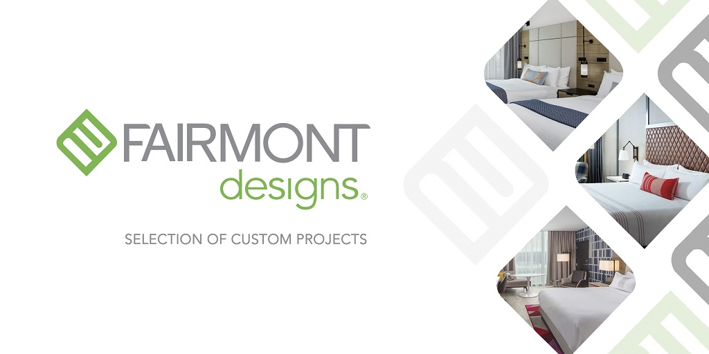 Newly opened hotels feats Fairmont Designs supplied furniture