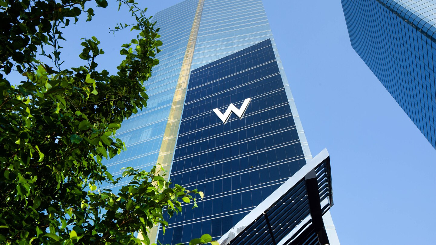 Under construction: W Panama takes up residence in the 50-floor Evolution Tower