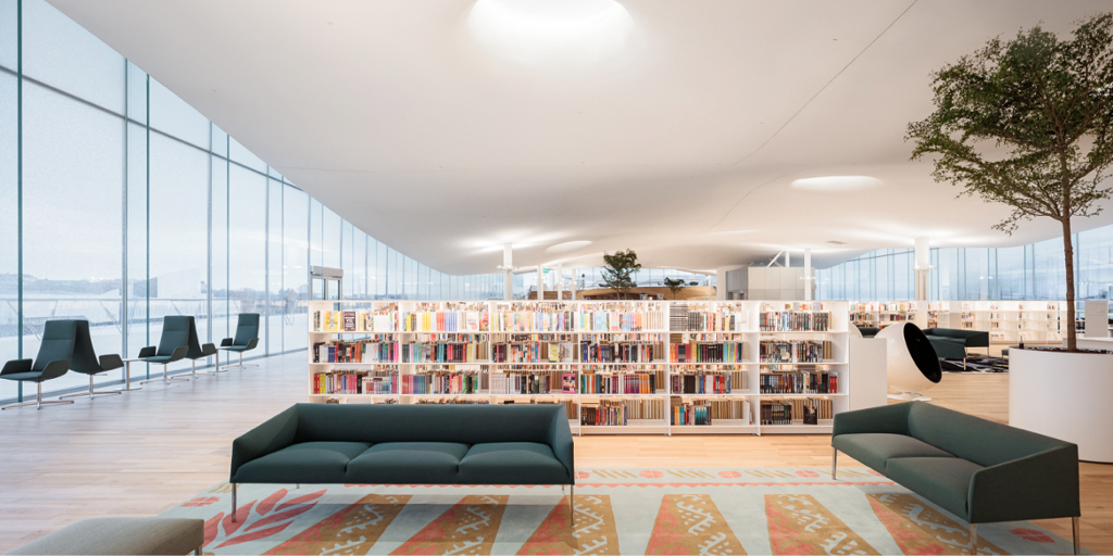 Carpets as storytellers: Floorwear Artworks in Helsinki's new library