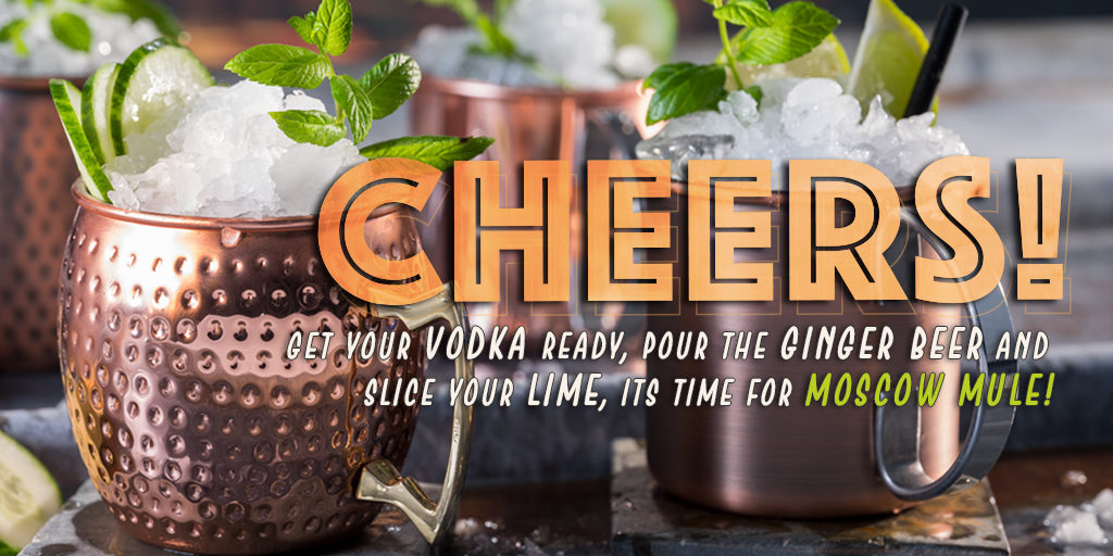 Cheers! It's time for a real Moscow Mule…