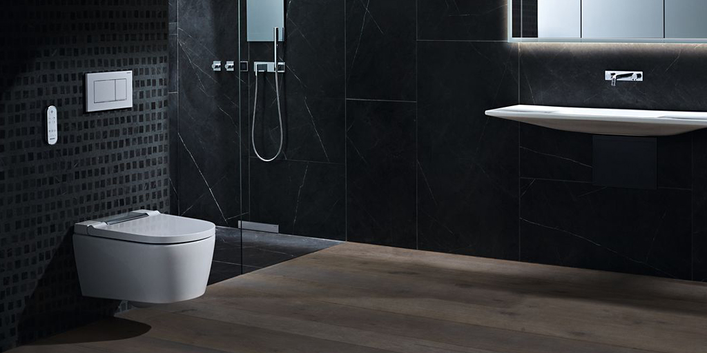 Quiet toilet flushes and sound-optimised pipes