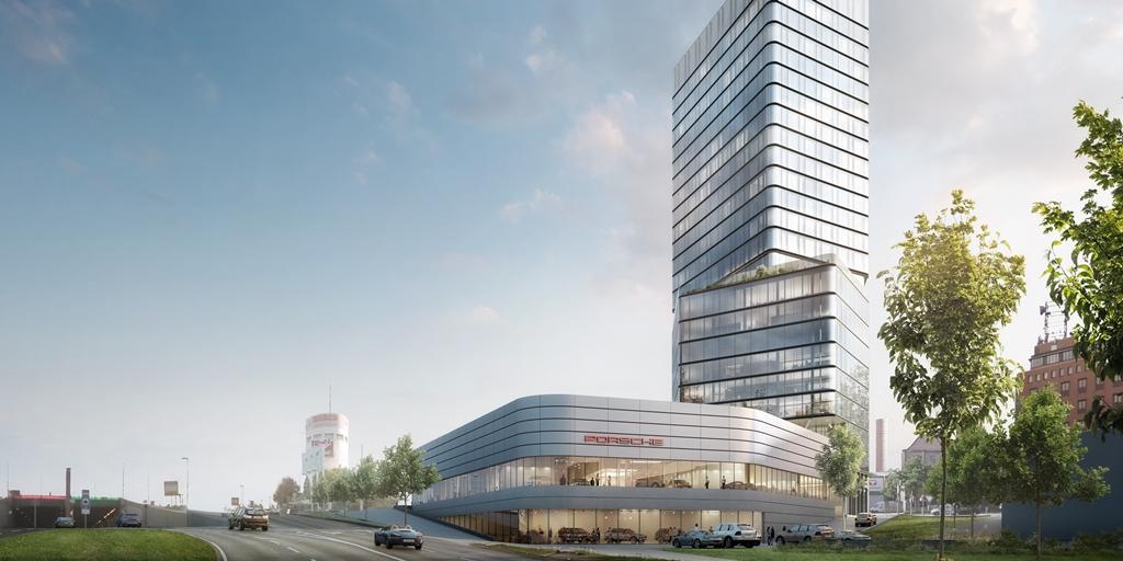 Radisson firma un contrato para la Porsche Design Tower en Stuttgart [informe de construcción]