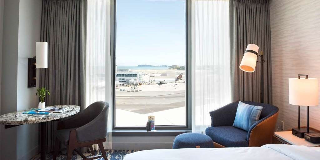 Arrivals, departures & awesome hospitality: the new Grand Hyatt at SFO
