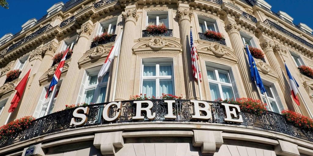 Iconic Hôtel Le Scribe Paris gets a scintillating makeover