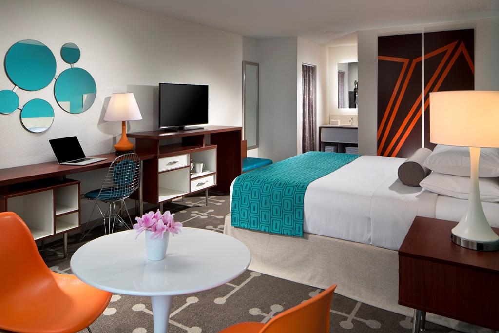 Model room of proposed design Orlando.
