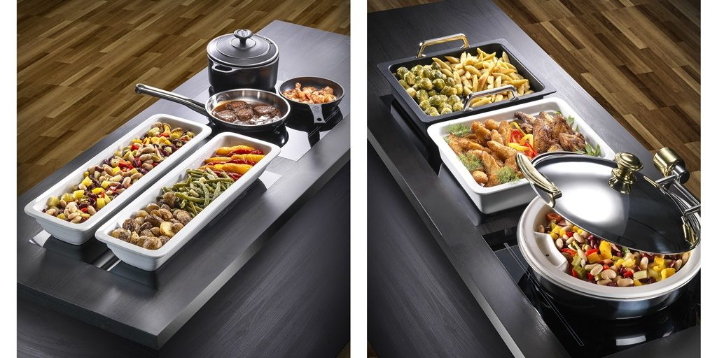 Andy Mannhart expands its range of Induction Buffets