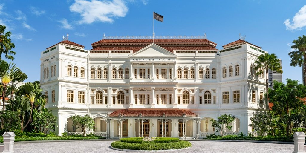 Iconic Raffles Singapore reopens after two and a half years of renovations