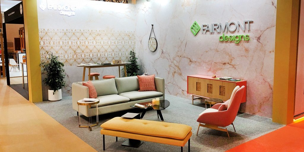 Fairmont Designs at The Hotel Show Dubai 2019