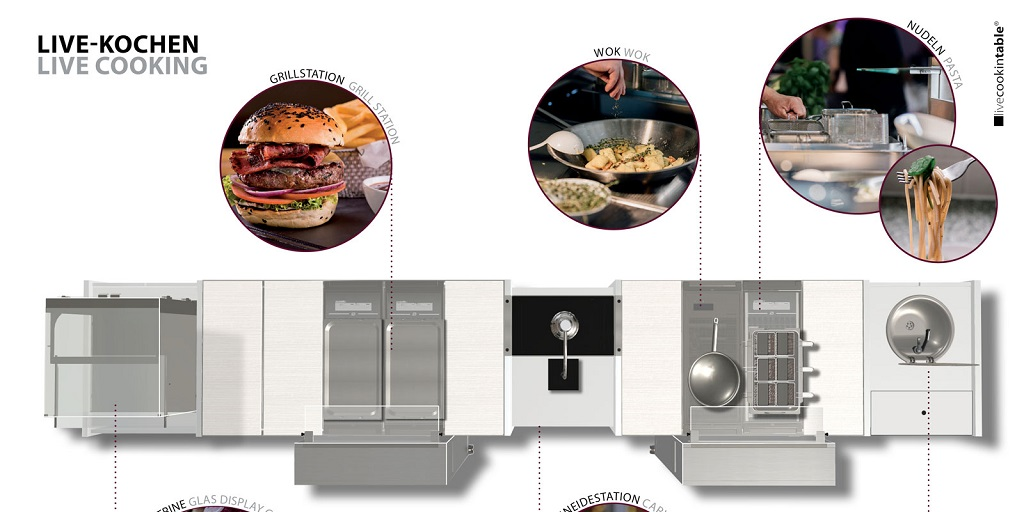 HOST Milan: livecookintable is expanding its offering for all-day dining buffet solutions