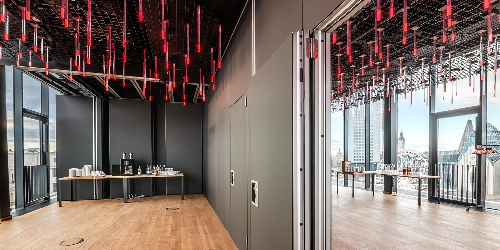 Beautifully designed and functional – Hufcor Movable Partition Walls