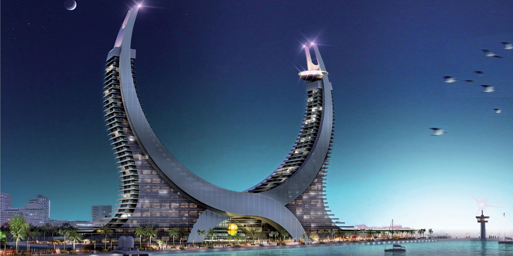 Project of the week: Katara Towers Lusail Marina District