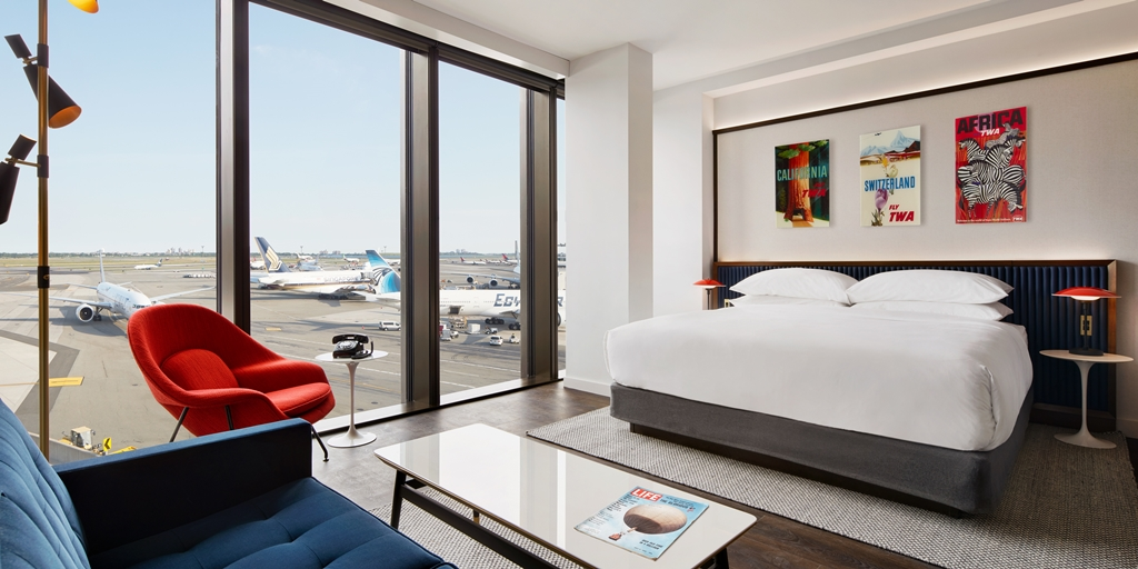 Stunning new TWA Hotel takes flight at JFK Airport