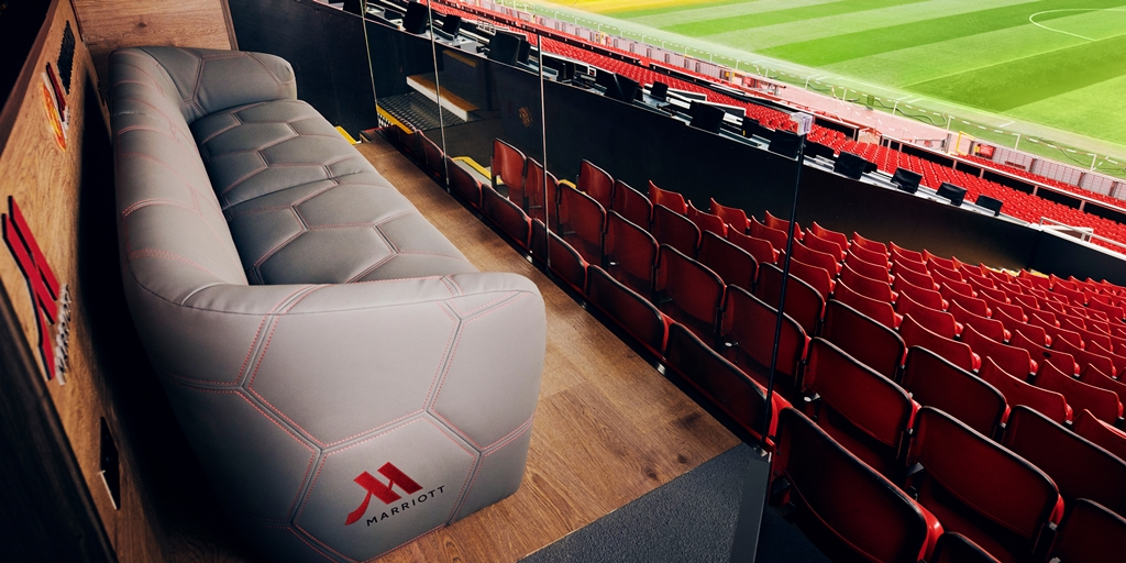Marriott teams up with Manchester United for Seat of Dreams