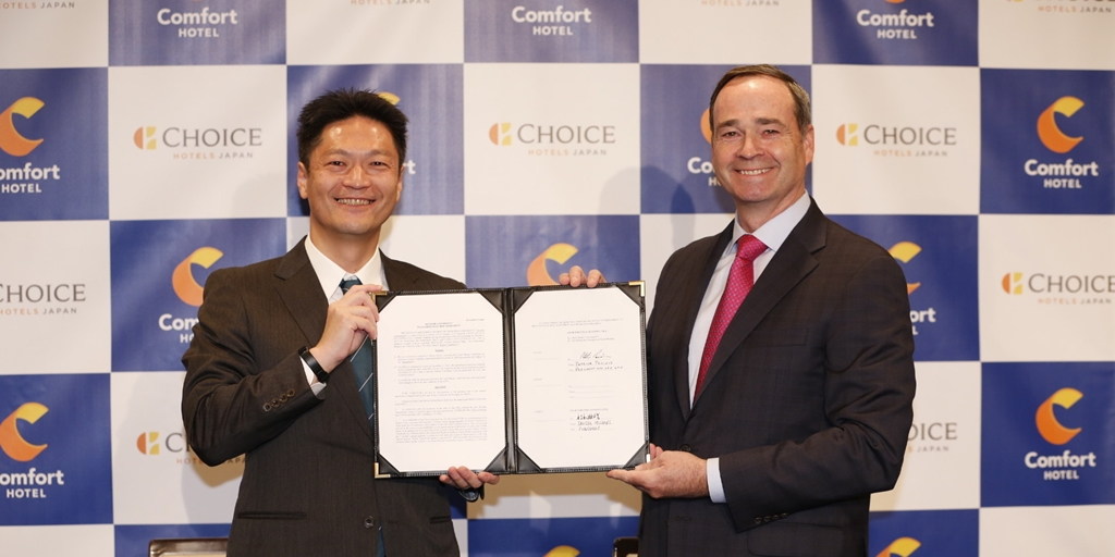 Choice Hotels set to significantly grow presence in Japan [Infographic]