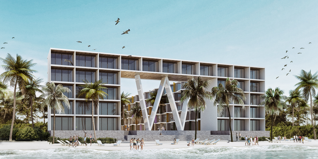 Marriott to bring W Hotels brand to Playa Del Carmen, Mexico in 2023 [Construction Report]