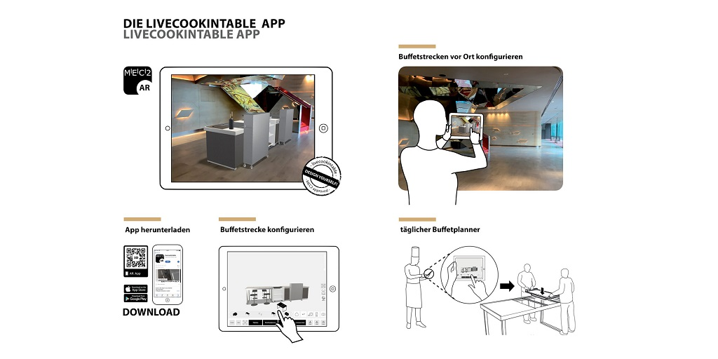 Great update for the livecookintable configuration App