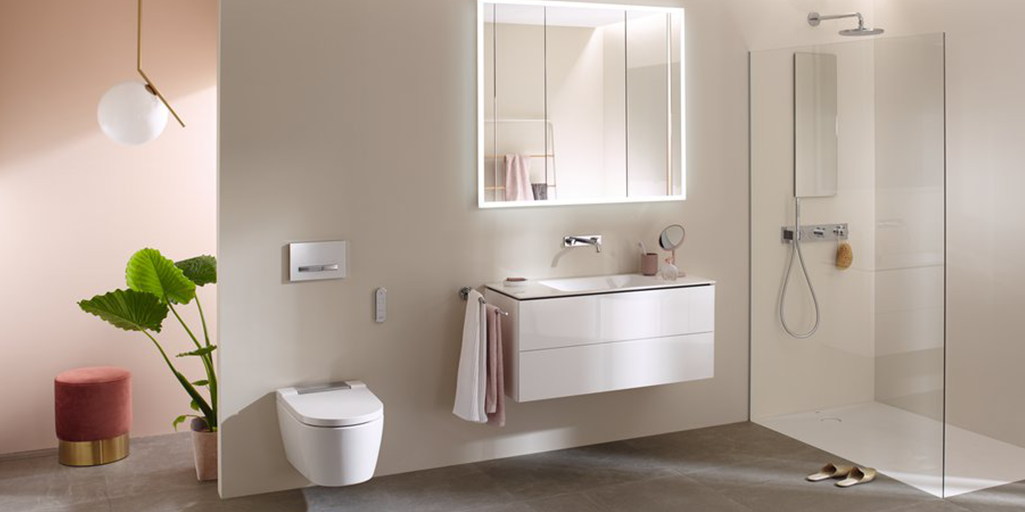 Sustainable shower toilets