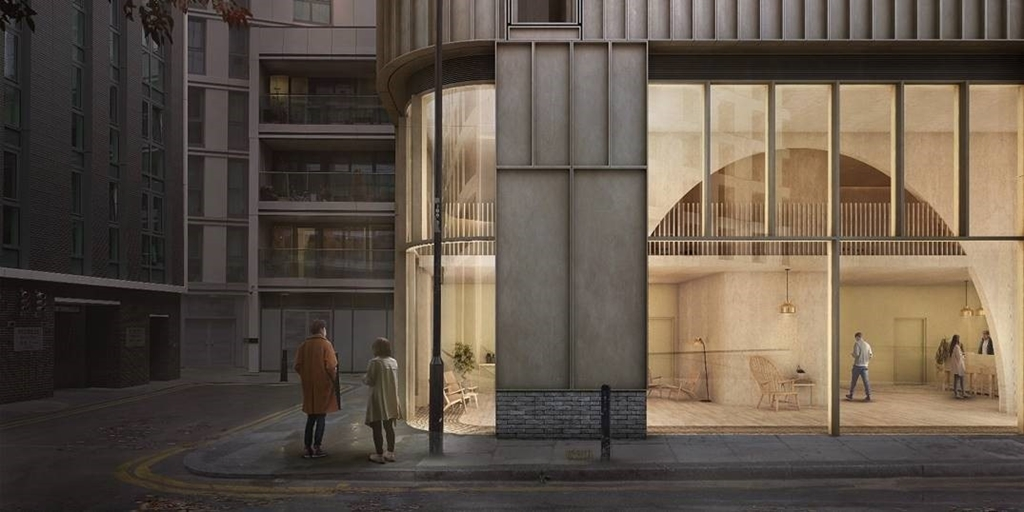 Snazzy new 12-storey aparthotel planned for London's Aldgate East [Infographic]