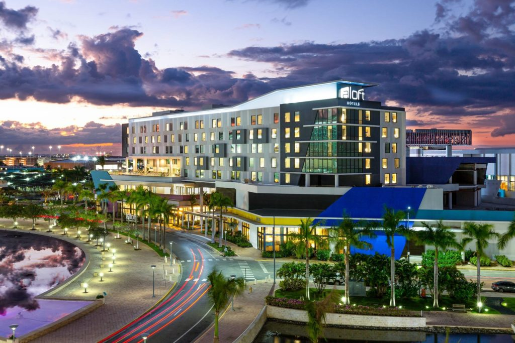 Marriott opens first Aloft Hotel in Puerto Rico's capital San Juan