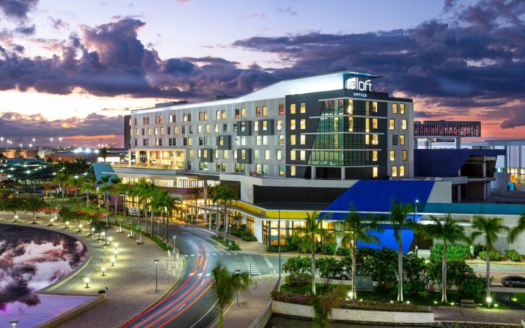 Marriott abre su primer hotel Aloft en San Juan, la capital de Puerto Rico