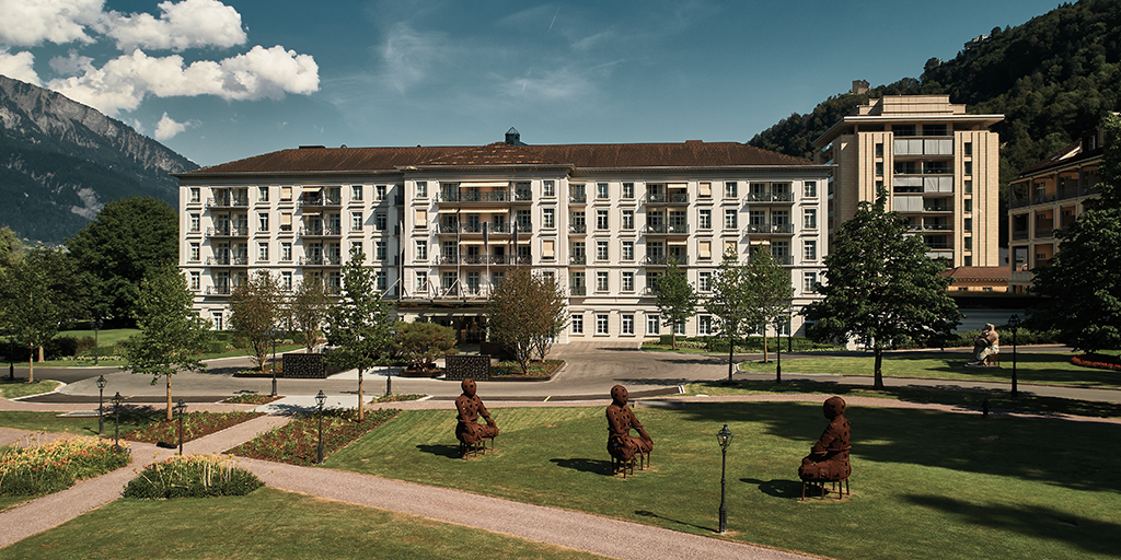Geberit AquaClean in Switzerland: the Grand Hotel Quellenhof at the Grand Resort Bad Ragaz