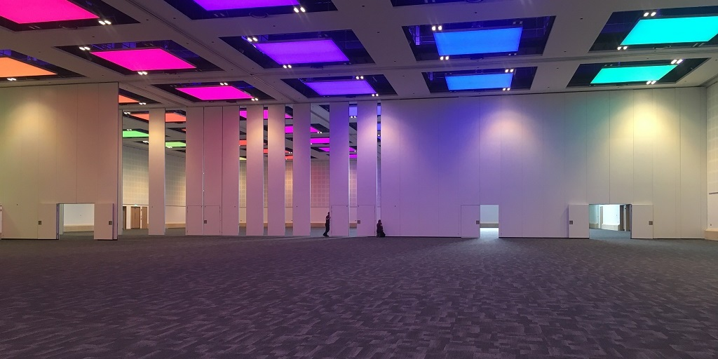 Outstanding flexibility with HUFCOR partition walls at the International Convention Centre Wales